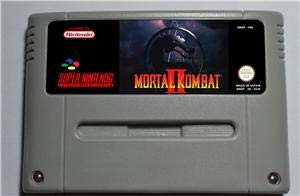 (The 2th Mortal Kombat II - Action Game Card EUR Version - Sega Genesis Collection ,classics ,Games For NES for Genesis)