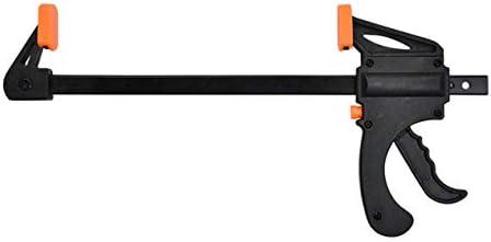 木工クランプ手動木工FクランプFタイプクランプ木工フィクスチャー木工6インチ-30インチ-オレンジ-6インチ