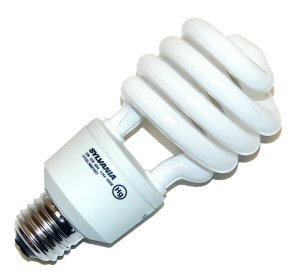 Sylvania CF23EL/MINITWIST Light Bulb, 23W Medium Base Electronic Compact Fluorescent - Warm White