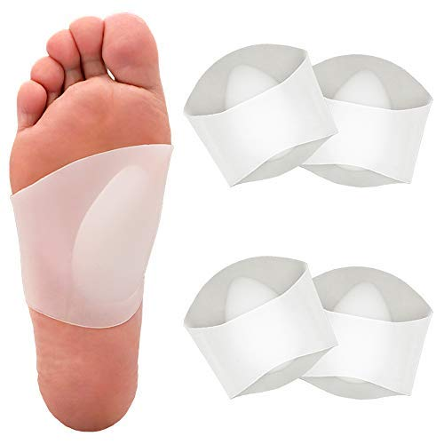 Gel sleeve for plantar fasciitis pain