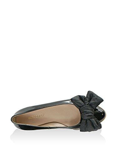 BOSCCOLO 38 Black Donna EU Lacquered Ballerine z8qnrwzI