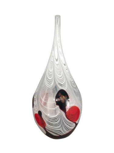 Dale Tiffany Feathers Tall Vase (Bowls Tiffany)