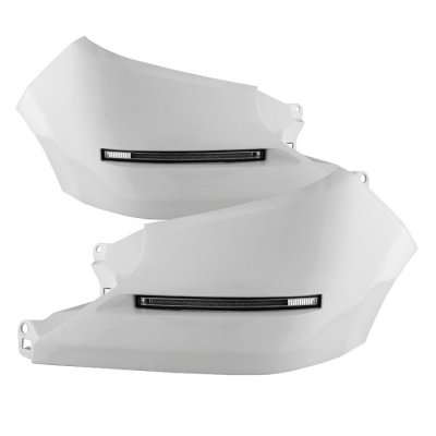 Spyder Auto FL-DRL-TTU2014-WH Toyota Tundra LED Daytime Running Light System - Euro Light System