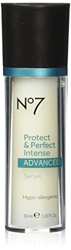Boots No7 Protect & Perfect Intense Advanced Anti Aging Serum Bottle - 1 oz (Single Bottle)
