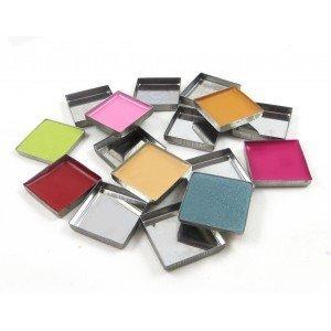 Z Palette Deep Square Empty Metal Pans Quantity of 20 (1 Inch Diameter) (Empty Makeup Pans compare prices)