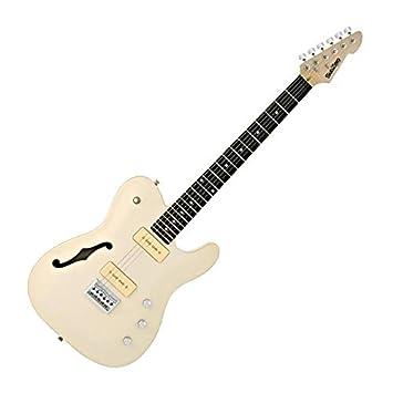 Guitarra Eléctrica SubZero Paradigm Semi-Hueca Vintage marfil: Amazon.es: Instrumentos musicales
