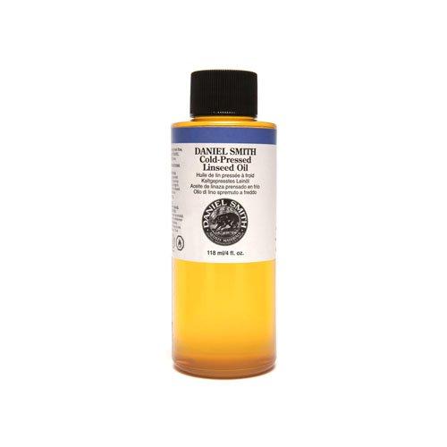 Daniel Smith 284470009 Original Oil, Cold-Pressed Linseed Oil, 4oz ()