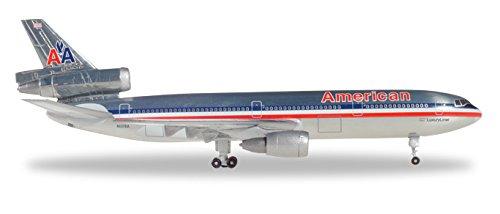 500 American Airlines - HERPA Wings 531207 American Airlines DC-10-30 'N137AA' 1/500 Scale Diecast Model