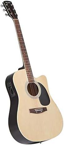 Delson HW-41 - Guitarra electroacústica, color madera natural ...