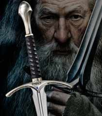 Lord of the Rings Glamdring Sword from The Hobbit -