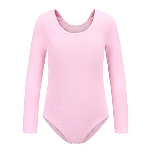 Ueiku Girls' Team Basic Long Sleeve Leotards