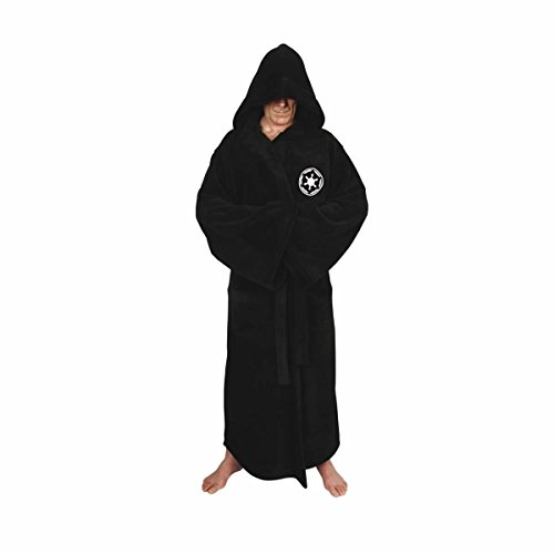 [XCOSER Bathrobe Darth Vader Sith Costumes Coral Velvet Black 2016 Size L] (Film Inspired Halloween Costumes)