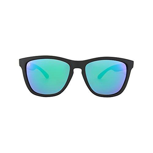 Matte Black Frame Green Lenses - Matte Black Frame Green Lenses Polarized Sunglasses