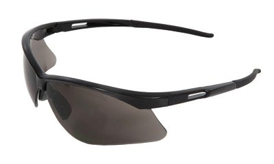 Radnor® Premier Series Safety Glasses With Black Frame And Gray Polycarbonate ()