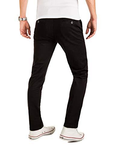 Yazubi Noir black Droite Chino Malphite Homme Coupe Pantalon 194008 Casual TqSTrxBFOw