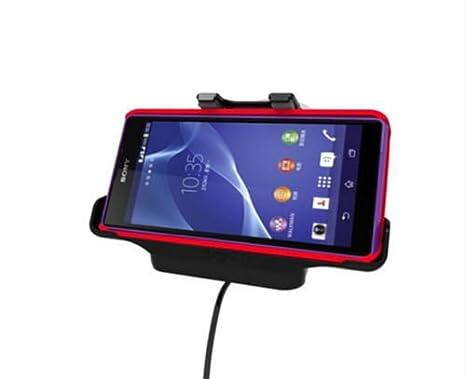 Sony Xperia Z3 360 Grados Ajustable Coche Parabrisas Cuna con cargador y cable