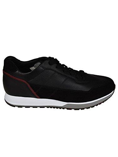 Hogan Sneaker H321 in Camoscio e Pelle Nero HXM3210K860IFW