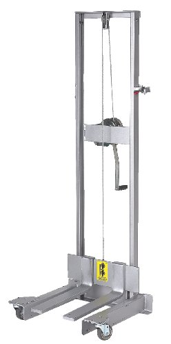 Wesco 230053 StairKing Battery Powered Stair Climbing Appliance Truck Aluminum Winch Lift Attachment, 800-lb. Capacity, 25