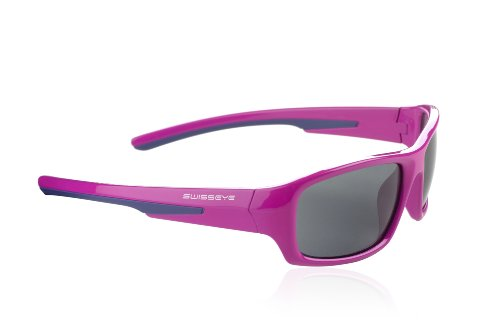 Swiss Eye Lunettes de sport pour enfant Junior, Enfant, Sportbrille Junior Rhodamine Red/Purple