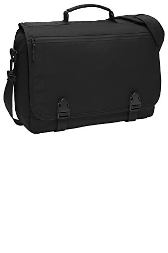 Port Authority Luggage-and-Bags Messenger Briefcase OSFA Black