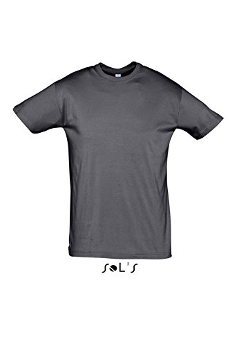 Sols - Regent - Unisex Rundhals T-Shirt , Mouse grey , XS