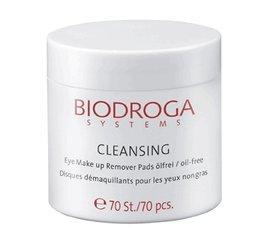 Biodroga Eye Make-up Remover Pads - 70 Pieces