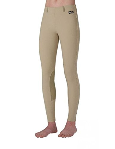 Kerrits Kids Microcord Kneepatch Tan Size: Extra Large