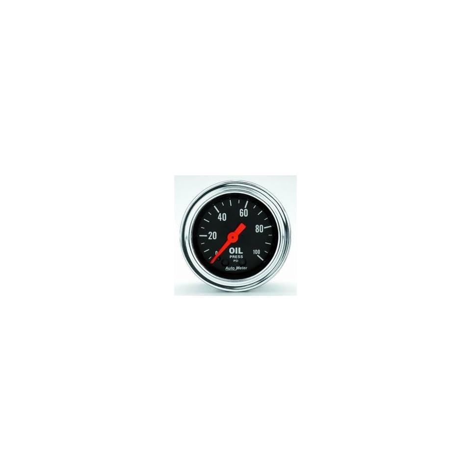 Auto Meter 2421 0 100 OIL PRESSURE GAUGE