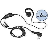 Motorola HKLN4604 C-Shaped Earpiece (12 Pack)