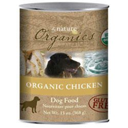 by Nature Organics Organic Chicken Formula Canned Dog Food