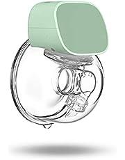 Moochy Bomba tira leite elétrica silenciosa invisível sem as mãos 2 modos 5 níveis ajustáveis com e de 27 mm para viagens em casa