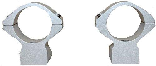 Talley 30mm Medium Scope Rings Knight MK 85 Tikka, Silver - S740714