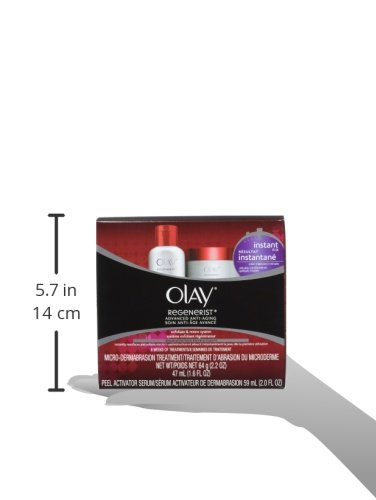 Olay Regenerist Microdermabrasion & Peel System Microdermabrasion Treatment 1 Kit