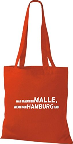 Unbekannt Bag In Tote Donna Rosso Cotone rxqY8wCxg