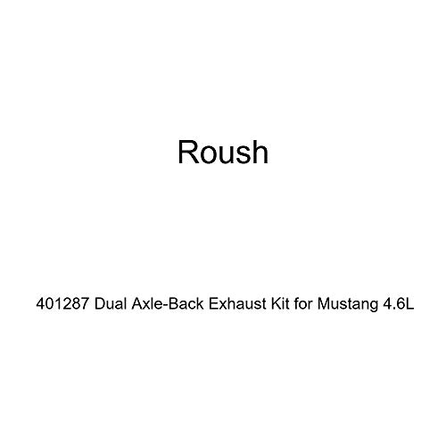 Roush 401287 Dual Axle-Back Exhaust Kit for Mustang 4.6L