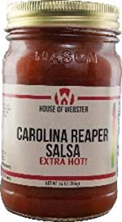 product image for House of Webster Carolina Reaper Salsa Extra Hot
