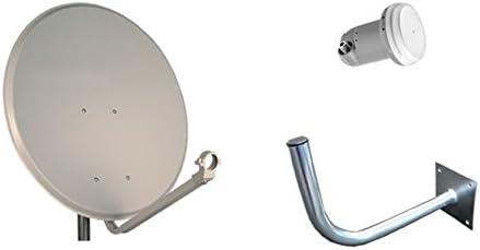 Daxis Kit de parabólica de 60 cm, LNB y Soporte: Amazon.es ...