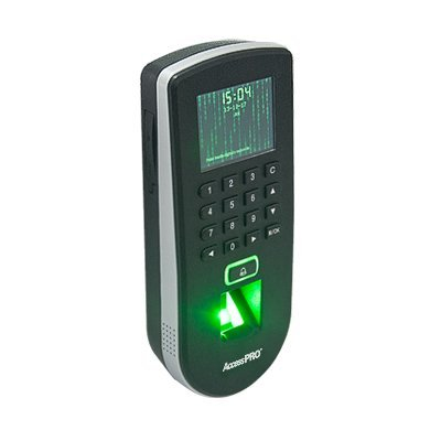 Biometric Reader Fingerprint F19 / Proximity / Keypad / TCP-IP / Up to 3,000 Fingerprints / 3'' Screen by AccessPro