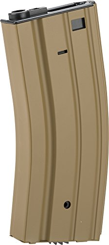 - Evike - Full Metal 300 Round Hi-Cap Magazine for M4 M16 L85 Scar Series Airsoft AEG - Dark Earth