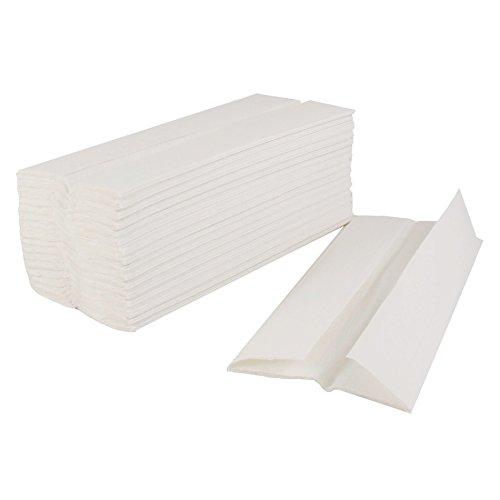キンバリーcfoldm、ホワイト簡単優雅c-foldペーパーナプキン、使い捨てディスペンサーハンドタオルナプキン、2400-pieceケース(ディスペンサーは別売) B01N01VW0D