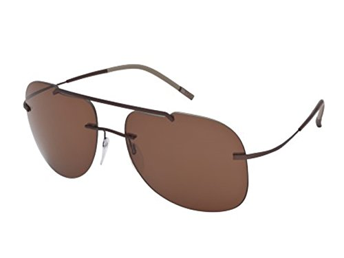 Silhouette Titanium Sunglasses Explorer Brown / Polarized Brown - Sunglasses Explorer