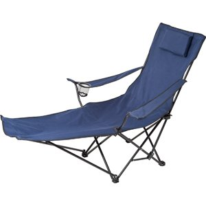 Gentil Be Active Folding Lounge Chair With Integral Footrest