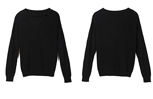 XYDQ 2017 Fall New Women's Tops Sexy Loose Hollow Turtleneck Sweater and Long Sleeved Bottoming Sweaters