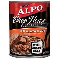 Alpo Chop House Originals Filet Mignon Dog Food 13oz each (Case of 24)