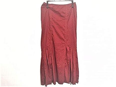 93812a447d2f Amazon | (プラダ) PRADA スカート ロングスカート レディース レッド ...