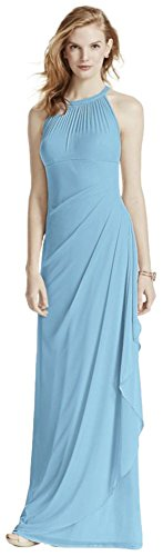 Buy capri color bridesmaid dresses - 4