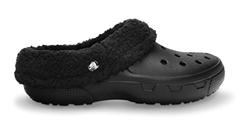 crocs Unisex Mammoth EVO Lined Clog,Black/Black,4 M US (Insulated Crocs compare prices)
