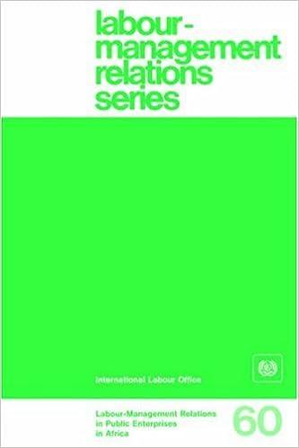 eBook-Downloads für Android kostenlos Labour-management relations in public enterprises in Africa (Labour-Management Relations Series No. 60) PDF MOBI 9221030091