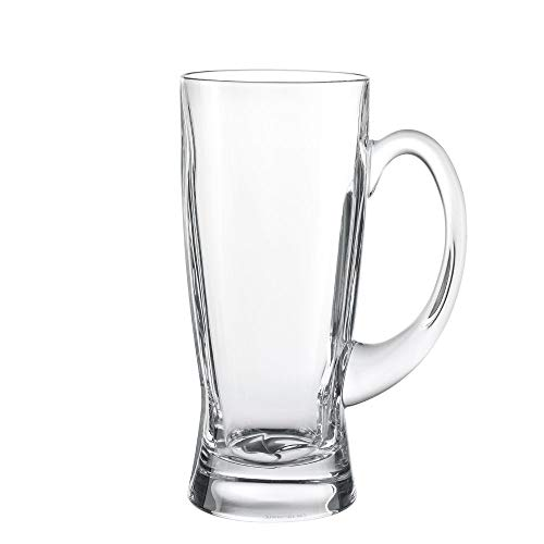 Spiegelau Refresh Beer Stein Glass - (Crystal Beer Stein, 21.9 oz. capacity)