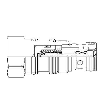 Sun Hydraulics CKEB-XCN Hydraulic Check Valve from Sun Hydraulics